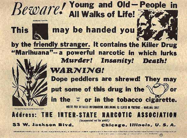 Anti-Marijuana Propaganda Wikimedia Commons